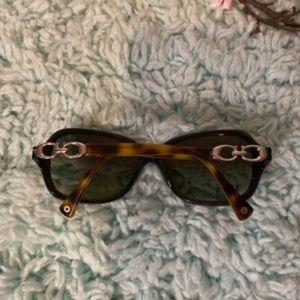 Coach Accessories - Coach Signature Brown Sunglasses EUC